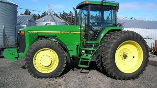 John Deere 8300 and 4450 Tractors with Low Hours on 2/11/16 Nebraska Farm Auction