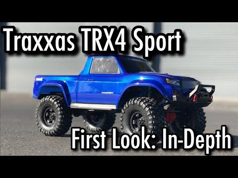 Traxxas TRX4 Sport - First Look