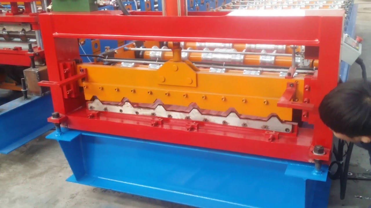 Lovely 2016 Hot Selling Roof Panel Roll Forming Machine For Sale Video Pakistan