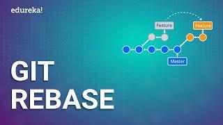 Git Rebase | Git Rebase vs Git Merge | Rebase in Git Tutorial | DevOps Training | Edureka