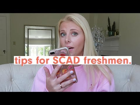 SCAD: How to Survive Freshman Year