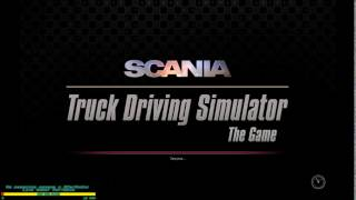 Scania Truck Driving Simulator тестовая игра.