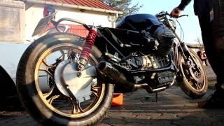 moto guzzi cafe racer sound!