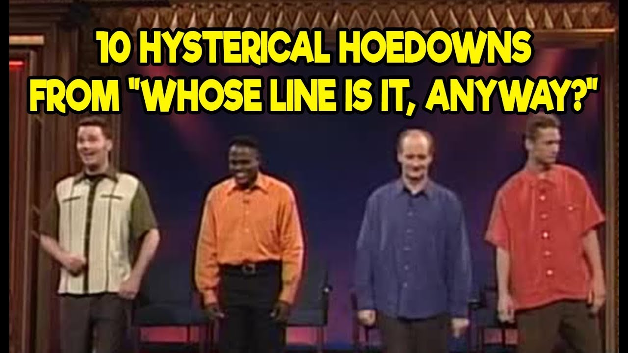 10 Hysterical Hoedowns From 'Whose Line Is It, Anyway?'