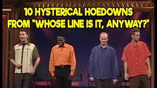 "10 Hysterical Hoedowns From ""Whose Line Is It, Anyway?"""