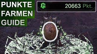 Monster Hunter World: Punkte farmen Guide (Offline Modus!) (Deutsch/German)