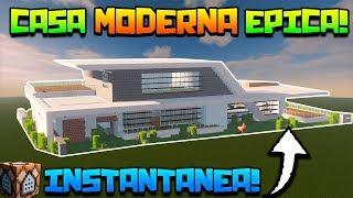 Minecraft construcciones videos minecraft construcciones for Casa moderna lyna