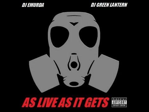 DJ EMURDA & DJ GREEN LANTERN - As Live As It Gets (Hip-Hop)