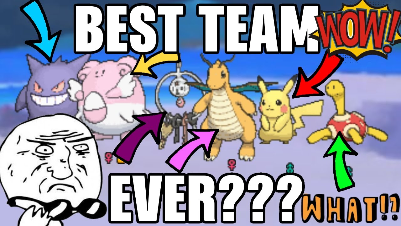 the best pokemon team ever for competitive battling so op