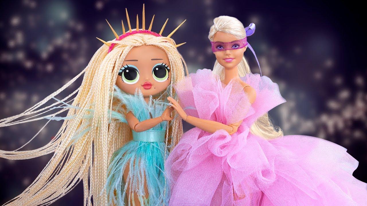 12 лайфхаков с одеждой для кукол ЛОЛ Сюрприз ОМГ и Барби ...