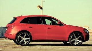 Audi Q5 on 22
