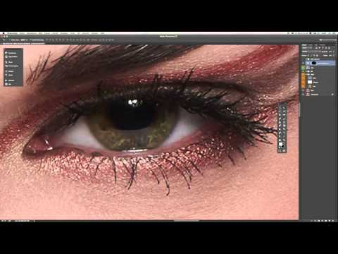 High speed beauty retouch.