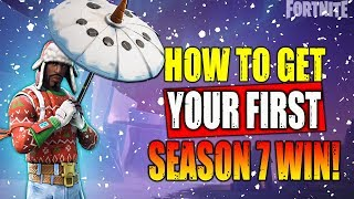 How To Get Your Season 7 Umbrella | Fortnite Battle Royale Gameplay