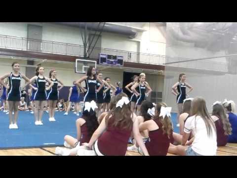 Venus middle school  2014  cheer camp