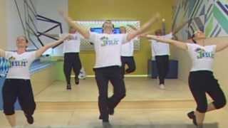 Coreografia do MEGA FLASH MOB Oficial da Marcha para JESUS 2013 - Com Equipe Praise Cia. de Dança