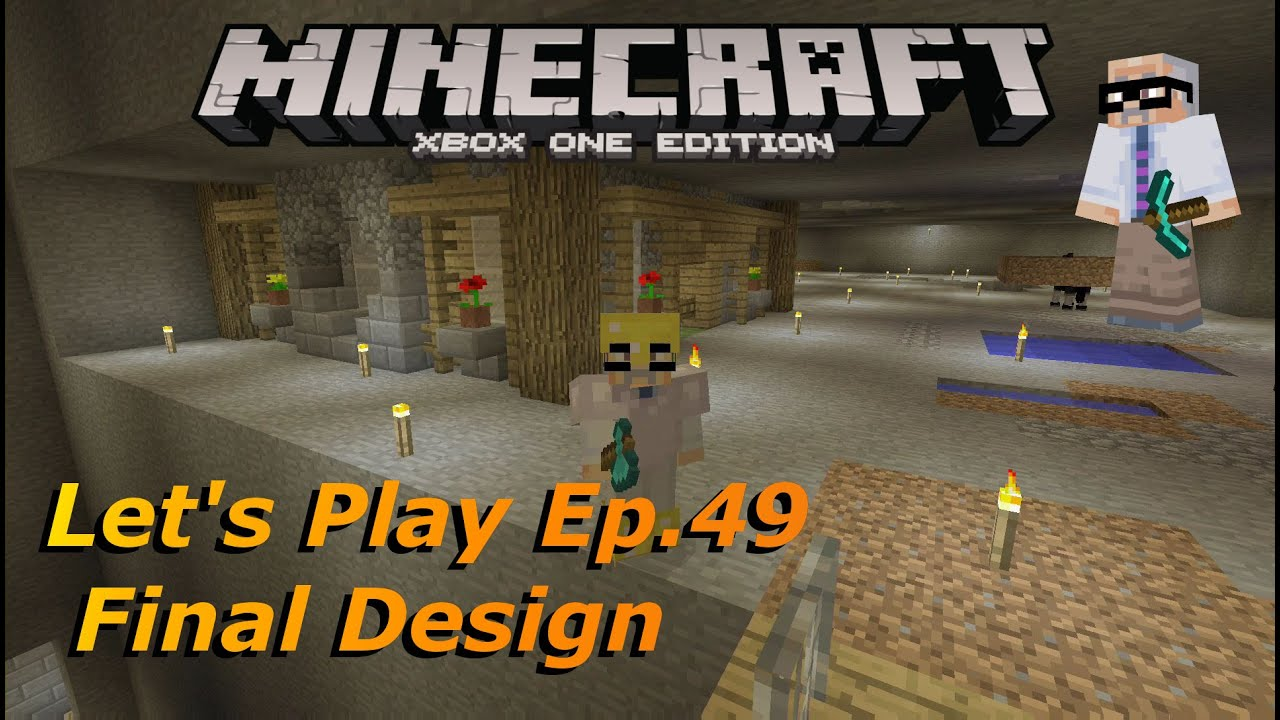 Minecraft Xbox One Let's Play S2E49: Animal Pen Final ...