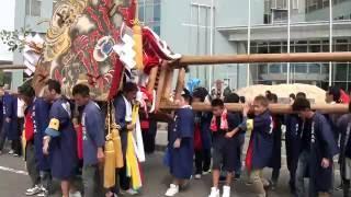 【志度 多和神社秋祭】旭組 さぬき市役所イベント(H28)