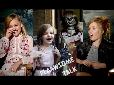 Talitha Bateman & Lulu Wilson On THE REAL HORROR On Set of Annabelle Creation