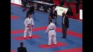 Serkan Yagci vs.Stanislav Horuna 75 kg  21 st World Karate Championships