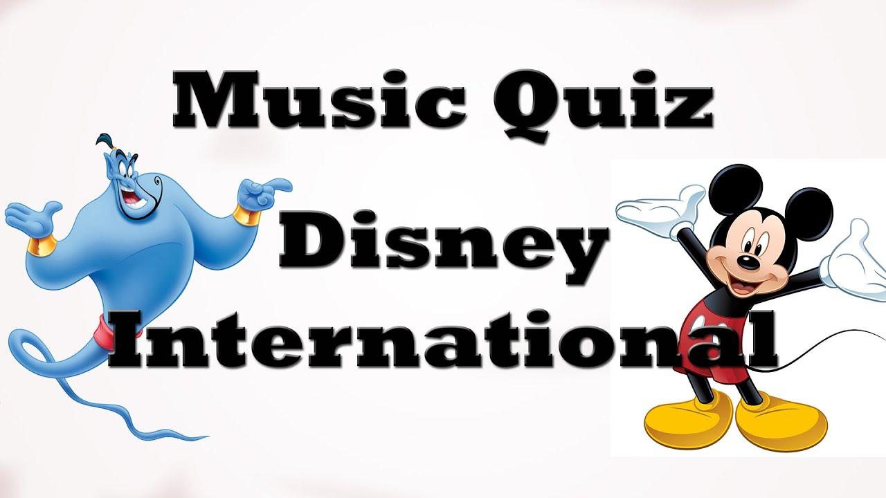 Music Quiz - Disney International