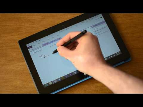 Surface Pro Handwriting Recognition Demo   Pocketnow