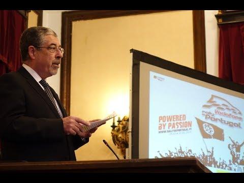 Intervenção de Manuel Machado na Apresentação do Rally de Portugal 2019