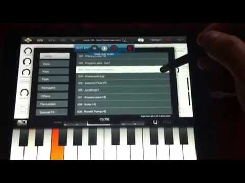 """Tera Synth - preset demo """"Leads"""" (part 1)"""