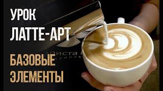 латте-арт или как делают рисунки на кофе профессионалы