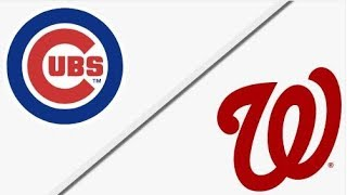 Chicago Cubs vs Washington Nationals | NLDS Game 2 Full Game Highlights
