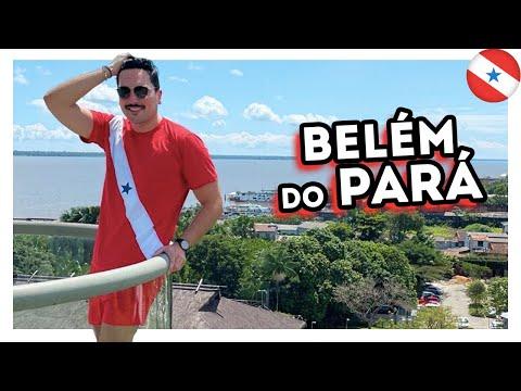 O QUE FAZER em BELÉM do PARÁ? Restaurantes, hotel, bares, açaí e história da cidade -45/60 #Brasil60
