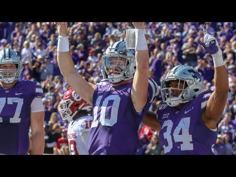 Oklahoma At Kansas State Football Highlights
