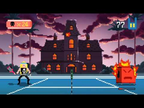 HEAVY METAL TENNIS TRAINING // featured by APPLE // NEW GAMES WE LOVE