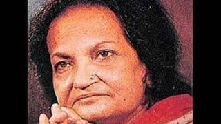 Begum Akhtar - door hai manzil raahein mushkil