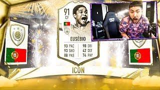 OMG I PACKED EUSEBIO!! BEST 30-0 REWARDS!! FIFA 20