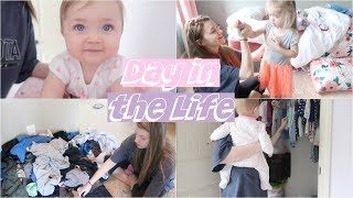 DAY IN THE LIFE of a Young Mom - Baby & Toddler