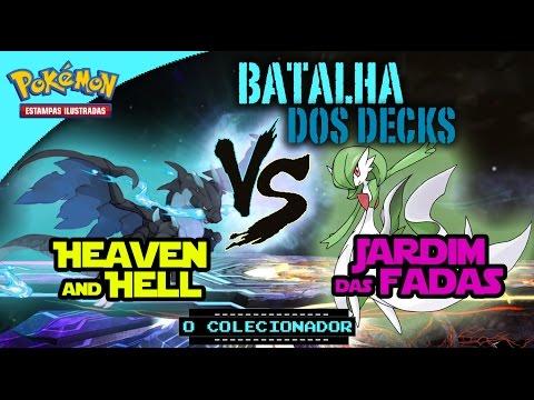 BATALHA DE DECKS - Heaven and Hell vs Fairy Kingdom - Pokémon Trading Card Game