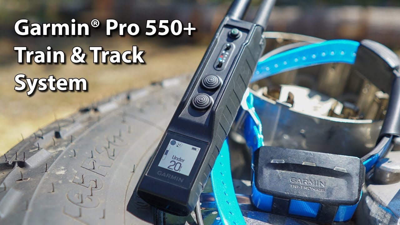 Garmin PRO 550+ Training and Tracking System