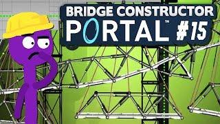 Hängebrücken-Chaos!   15   Bridge Constructor PORTAL