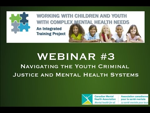 Navigating the Youth Criminal Justice and Mental Health Systems