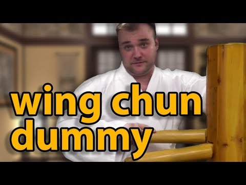 Freestanding Wing Chun Wooden Dummy...