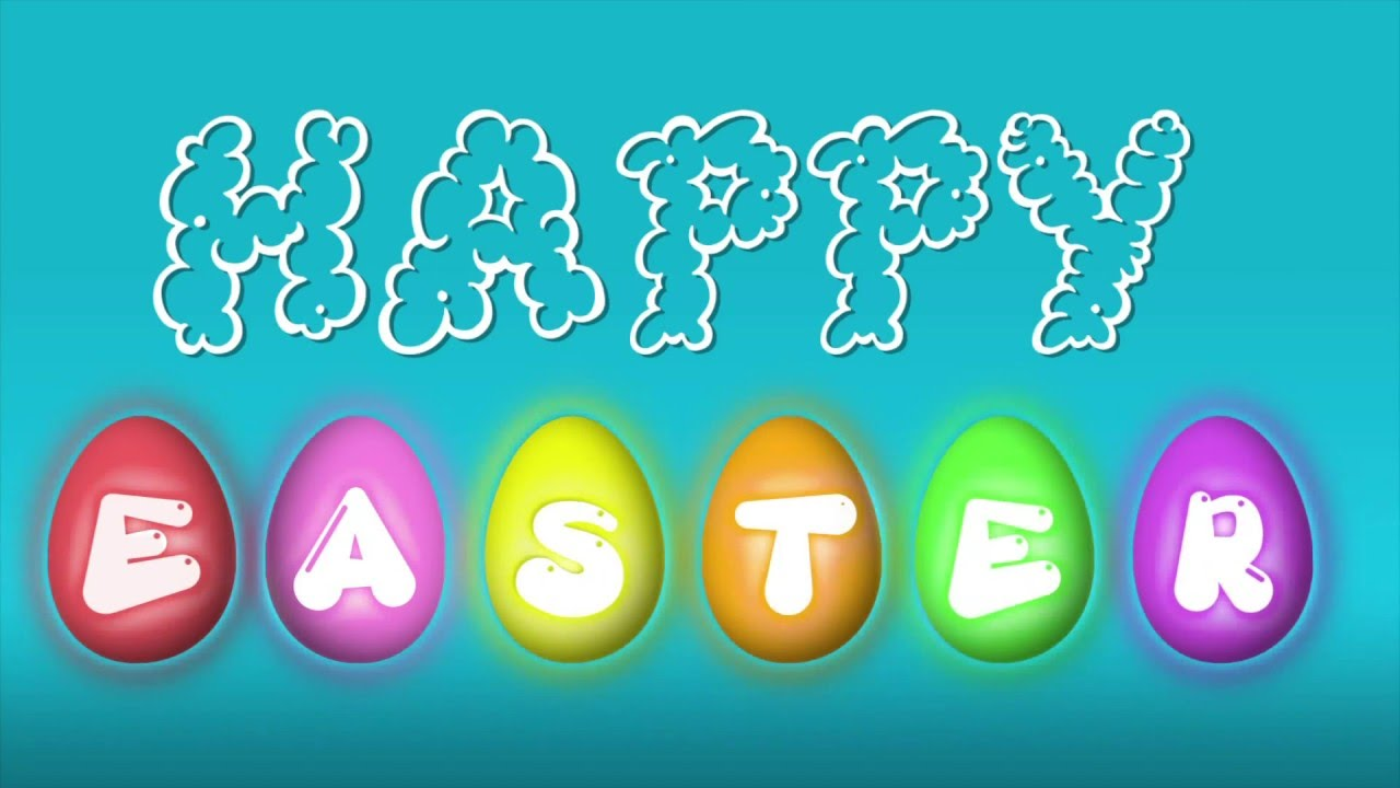 Animated Easter Greeting Youtube