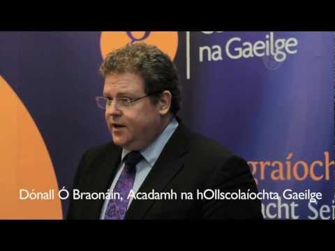 Agallamh Le Dónall Ó Braonáin, Tóstal Na Gaeilge 2012