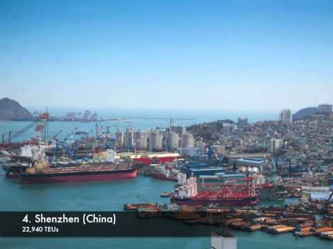 Top 10 Busiest Container Ports