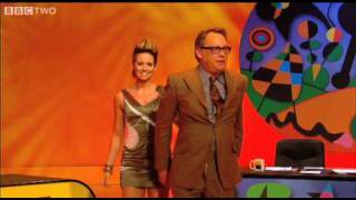Vic Reeves dances with Kimberly Wyatt - Shooting Stars Ep 2 - BBC Two