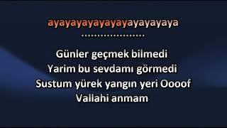 Irmak Arıcı - Mevzum Derin [ KARAOKE ] Şarkı Sözleri