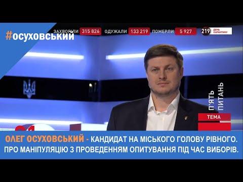 Олег Осуховський: Олег Осуховський - Про маніпуляцію з опитуванням від ЗЕ під час проведення виборів!