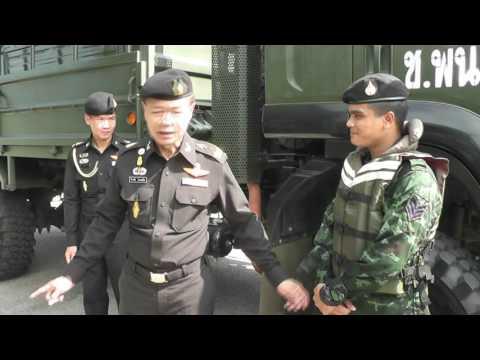 กรมการทหารช่าง ประกอบพิธีตวรจความพร้อมของกำลังพล และยุทโธปกรณ์สำหรับการบรรเทาสาธารณภัย