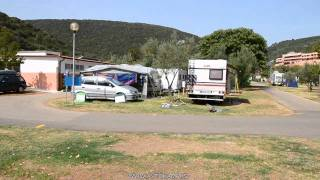 Camp site Oliva - Rabac - camping Croatia