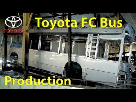 Toyota SORA FC bus Production (Japan) Assembly Plant