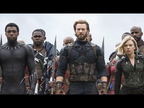 In hindi Avengers infinity war Wakanda battle scene thumbnail